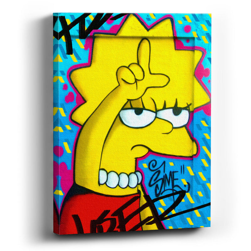 Cuadro Canvas Lisa Simpson - balcru