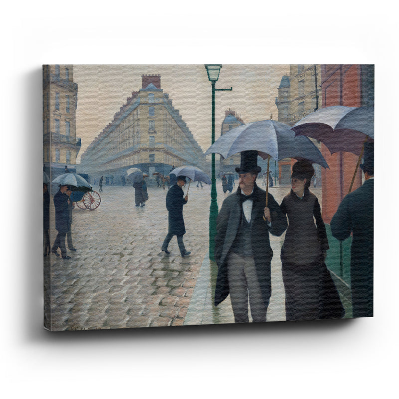 Cuadro canvas  Paris Street Rainy Day - balcru