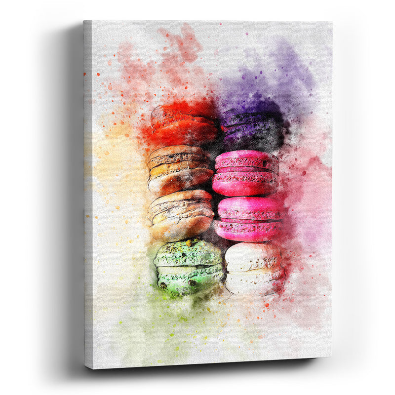 Cuadro canvas Cake colors - balcru
