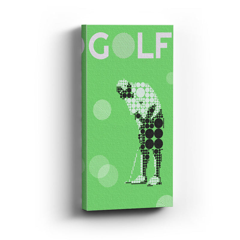 Cuadro canvas Golf dot - balcru