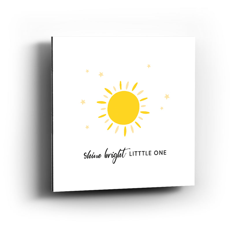 Cuadro aluminio Shine bright little one macao - balcru