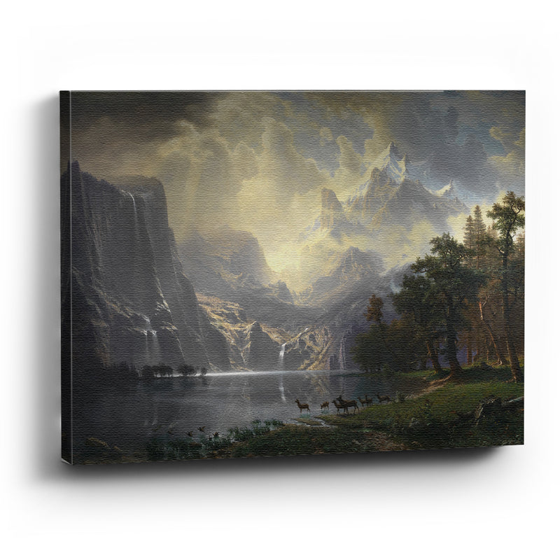 Cuadro Canvas Among the Sierra Nevada Mountains, California - balcru