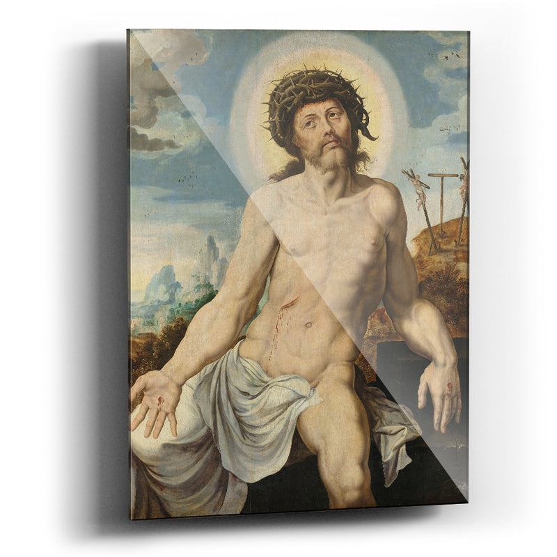 Cuadro acrílico Christ as the Man of Sorrows Maarten van Heemskerck - balcru