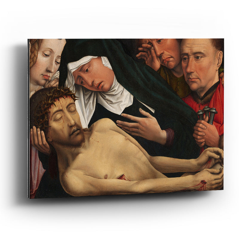 Cuadro aluminio The Lamentation of Christ-Colijn de Coter - balcru