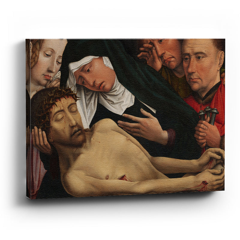 Cuadro canvas The Lamentation of Christ-Colijn de Coter - balcru