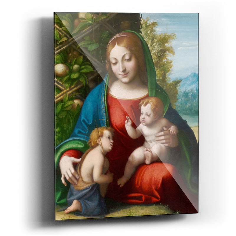 Cuadro acrílico Virgin and Child with the Young Saint John the Baptist - balcru