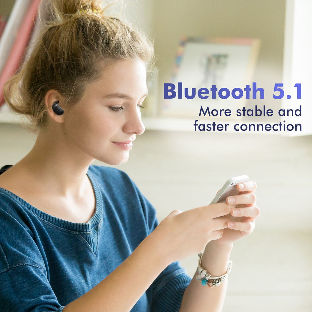SoulMate S7 - Wireless Earbuds Bluetooth 5.1 with Noise Cancelling