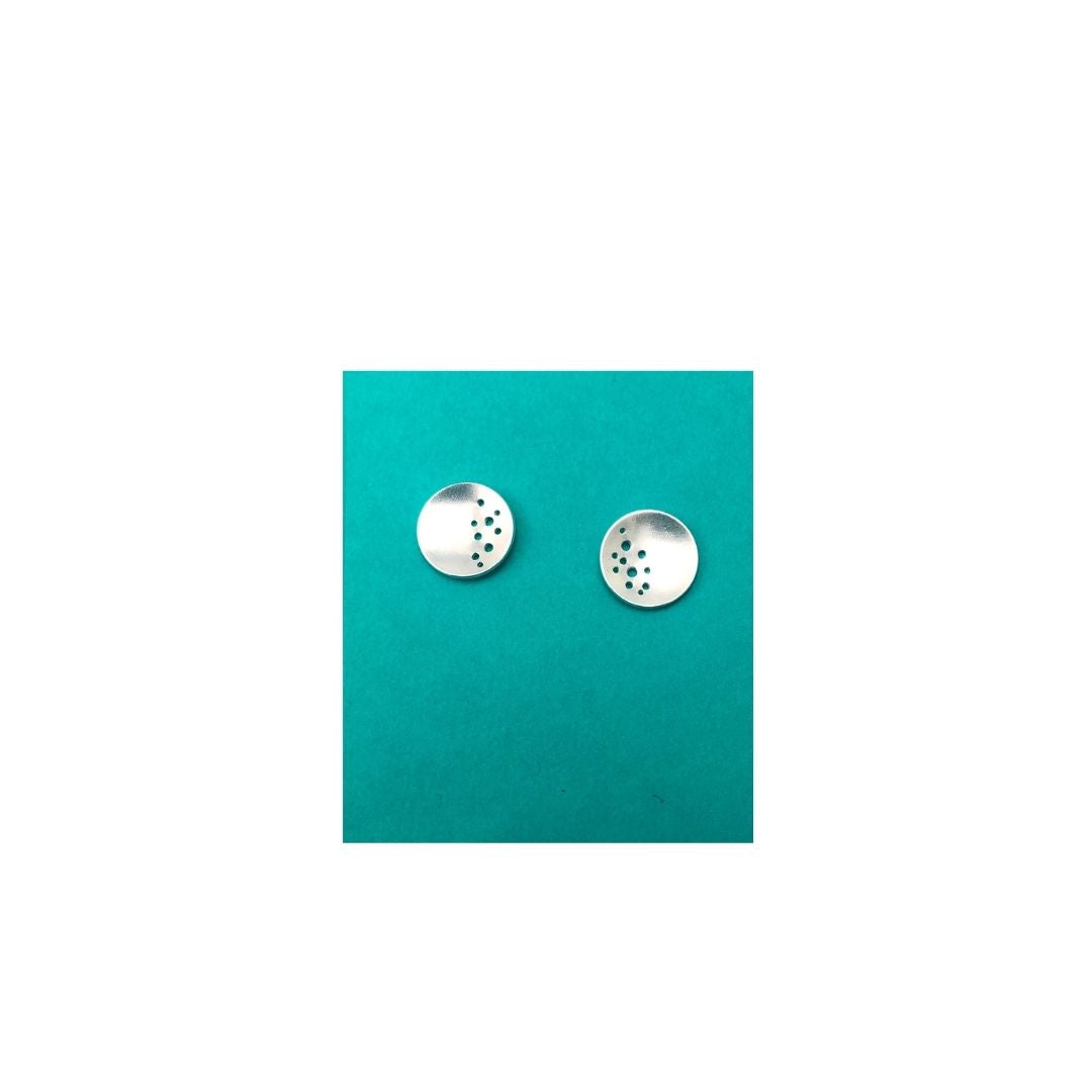 Dot|Disc Earrings