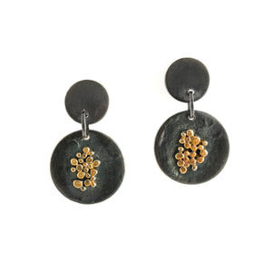 22K Granulation Earrings