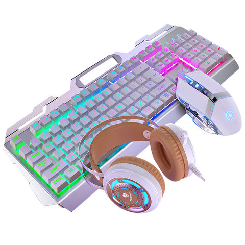 Mechanical Feel Gaming Set - Trek Electronics