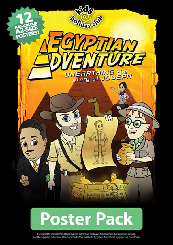 Egyptian Adventure Poster pack