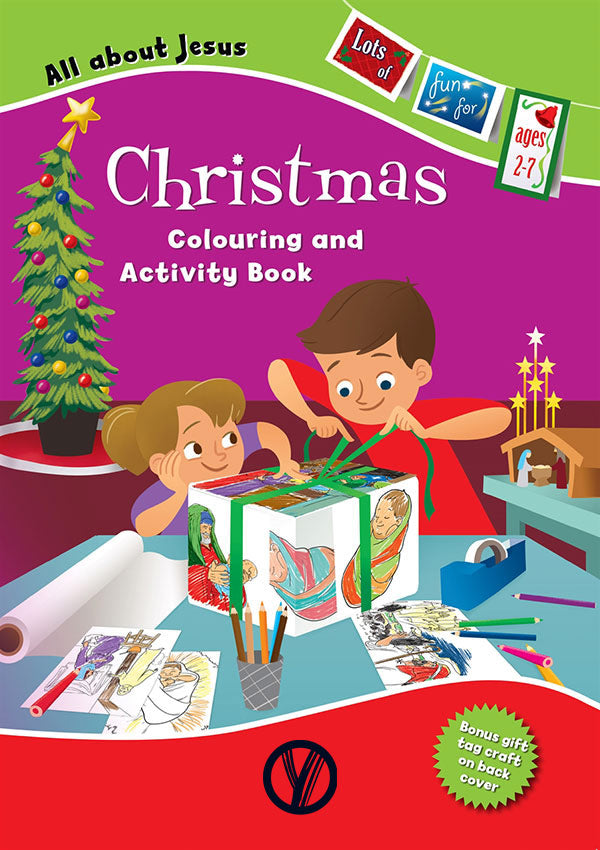 All About Jesus Christmas Colouring & Activity Book
