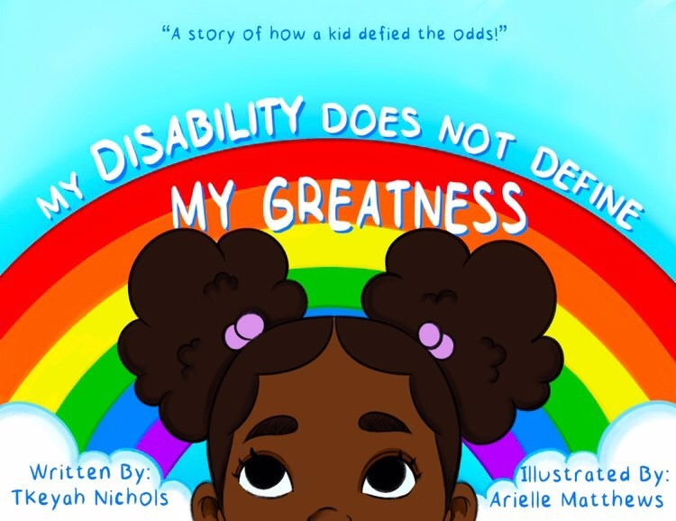 My Disability Does Not Define My Greatness – A Children's Book