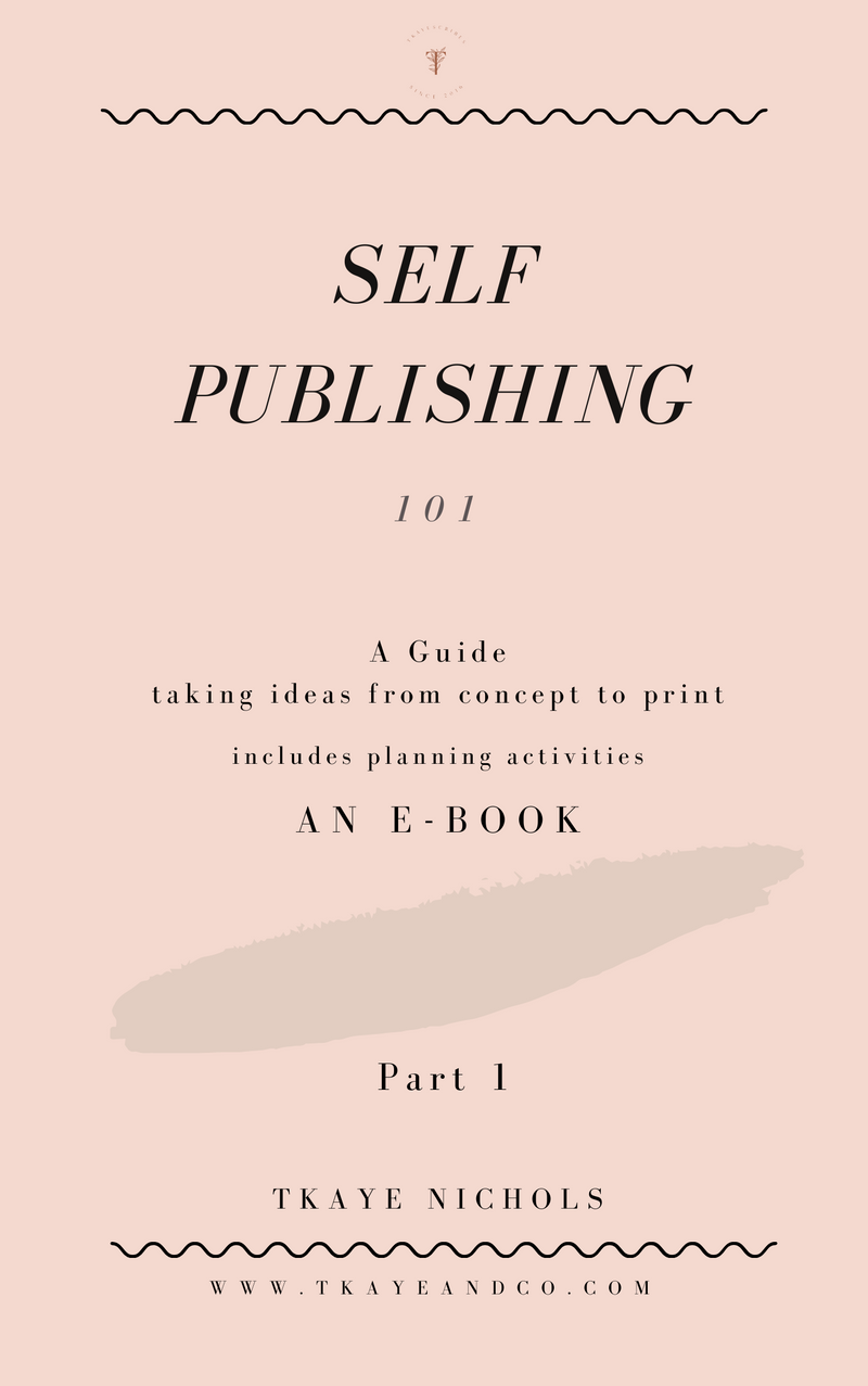 Self-Publishing A Brainstorming Guide