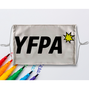 YFPA Sublimation Colouring Face Mask