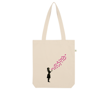 Load image into Gallery viewer, Sakura Organic Tote Bag