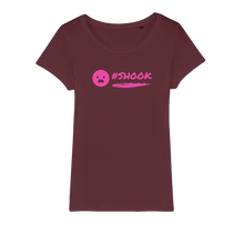 Load image into Gallery viewer, SHOOK 2020 Organic Jersey Womens T-Shirt