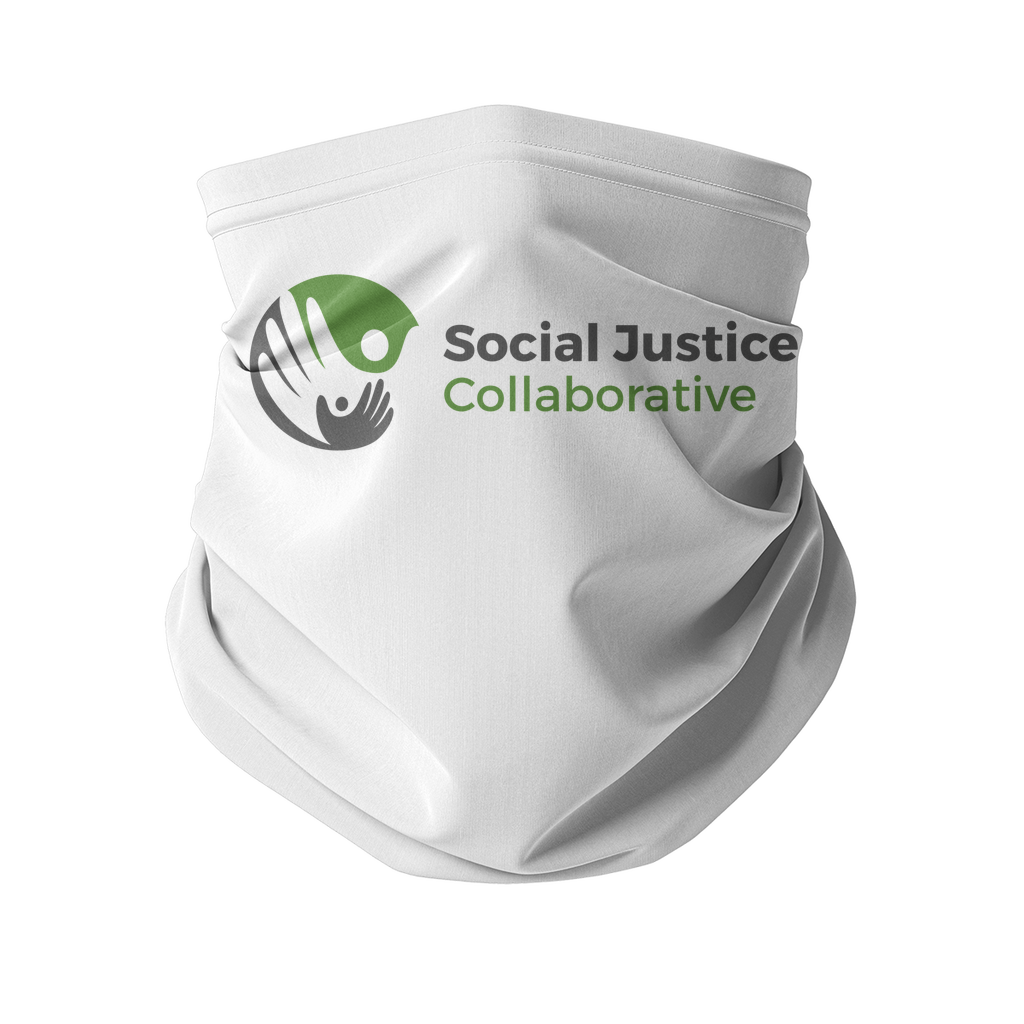 Social Justice Collaborative SJC Sublimation Neck Gaiter