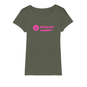 SHOOK 2020 Organic Jersey Womens T-Shirt
