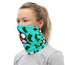 Load image into Gallery viewer, Fuck You Flowers Neck Gaiter