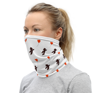 Love Balloon Street Neck Gaiter