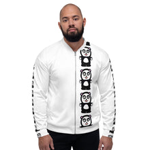 "Load image into Gallery viewer, ""The Finger"" Unisex Bomber Jacket"