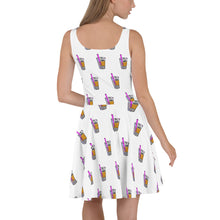 Load image into Gallery viewer, Boba Life Skater Dress