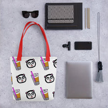 Load image into Gallery viewer, Pandaboba Tote bag