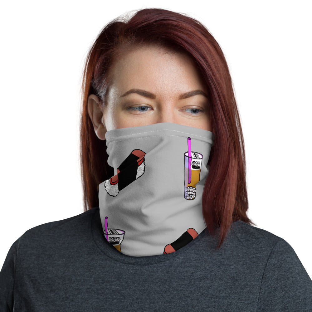 Olivia Neck Gaiter Gray