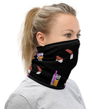 Load image into Gallery viewer, Olivia Neck Gaiter Black