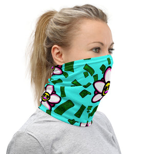 Fuck You Flowers Neck Gaiter