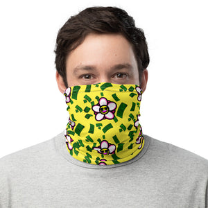 Fuck You Flower Club Neck Gaiter
