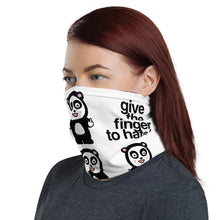 "Load image into Gallery viewer, The ""Finger to Hate"" Neck Gaiter"