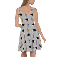 Load image into Gallery viewer, Olivia Skater Dress Gray