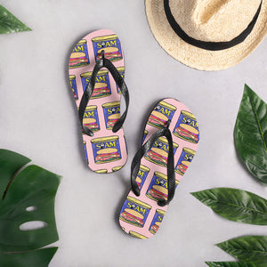 Luncheon Meat Flip-Flops