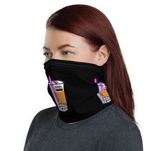 Load image into Gallery viewer, Boba Life Neck Gaiter Black