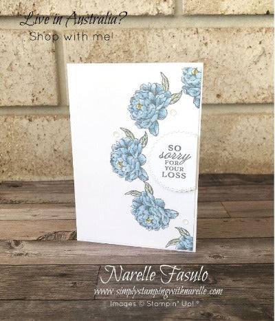 Peony Garden Cards Tutorial Bundle