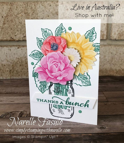 Flowers For Every Season Cards Tutorial Bundle