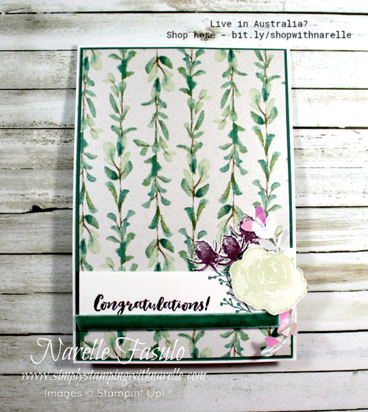 Frosted Floral Cards Tutorial Bundle