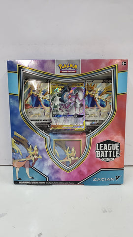 Pokémon Zacian V League Battle Deck