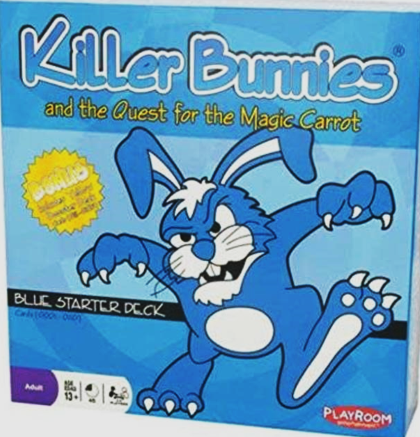 Killer Bunnies and the Quest for the Magic Carrot: Blue Starter Deck