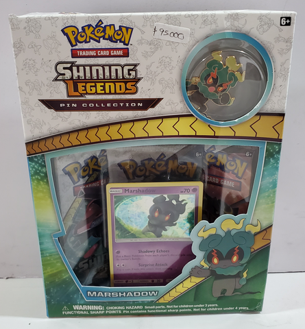Pokemon Shining Legends Pin Collection Marshadow