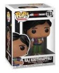 Funko Pop Television: Big Bang Theory Raj Koothrappali