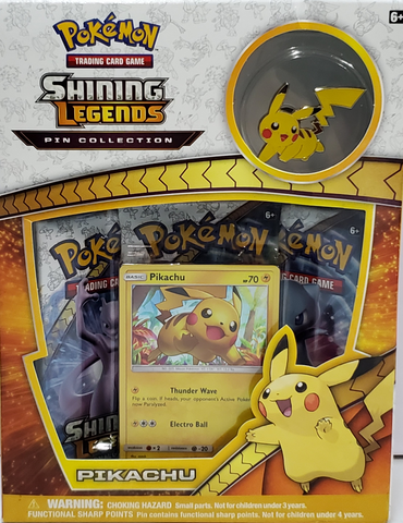 Pokemon Shining Legends Pin Collection Pikachu