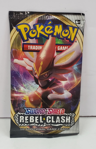 Pokemon Sword & Shield Rebel Clash Booster
