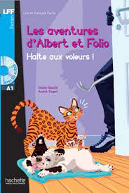 Albert Et Folio: Halte Aux Voleurs A1 + CD Audio MP3