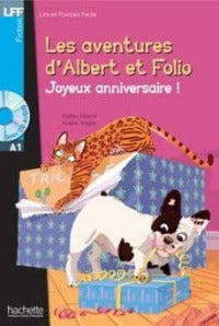 Albert et Folio: Joyeux Anniversaire! A1 +CD Audio MP3