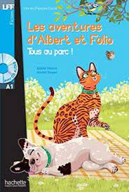 Albert et Folio : Tous au parc  A1 + CD Audio MP3