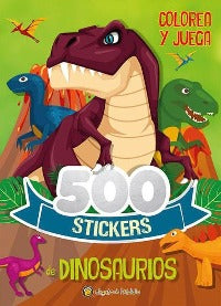 500 Stickers : Dinosaurios