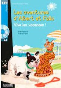 Albert et folio vive les vacances  A1 + CD Audio MP3